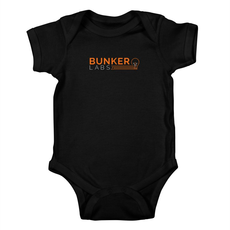 Baby Bodysuit (Onesie) in Kids Baby Bodysuit Black by Bunker Labs Shop