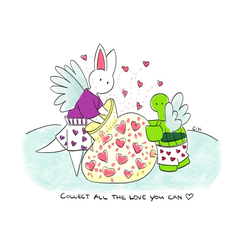 Bunny Daze - Collect all the love you can by Bunny Daze's Artist Shop