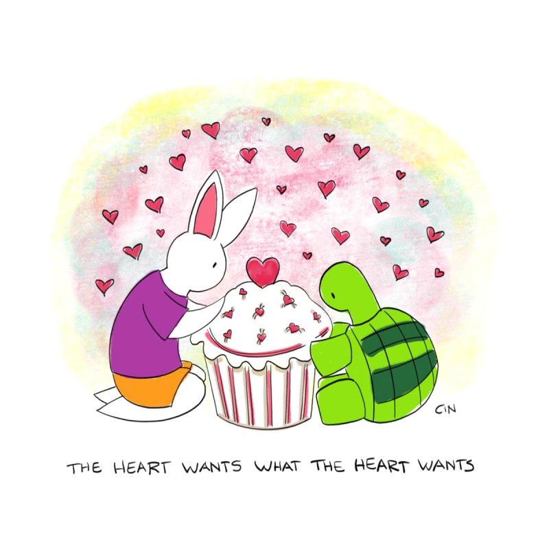 Bunny Daze - The heart wants what the heart wants by Bunny Daze's Artist Shop
