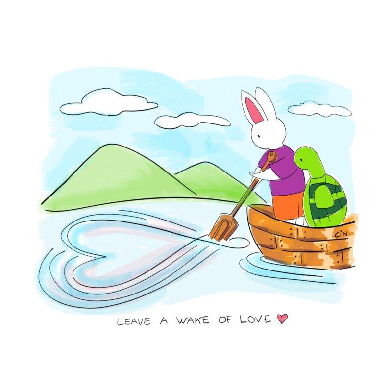 Bunny Daze - Leave a wake of love by Bunny Daze's Artist Shop