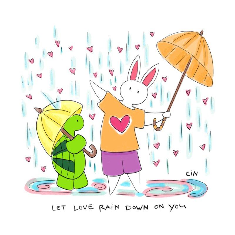 Bunny Daze - Let love rain down on you by Bunny Daze's Artist Shop