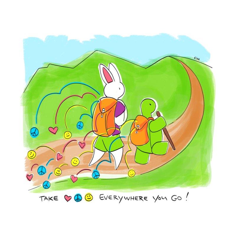 Take Love, Peace, and Joy Everywhere You Go! by Bunny Daze's Artist Shop