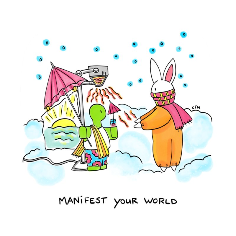 Bunny Daze Happiness - Manifest Your World by Bunny Daze's Artist Shop
