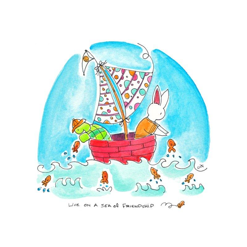 Live on a sea of friendship by Bunny Daze's Artist Shop