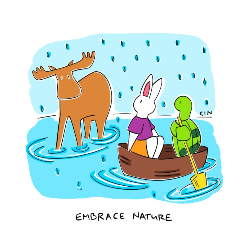 Bunny Daze Happiness - Embrace Nature by Bunny Daze's Artist Shop
