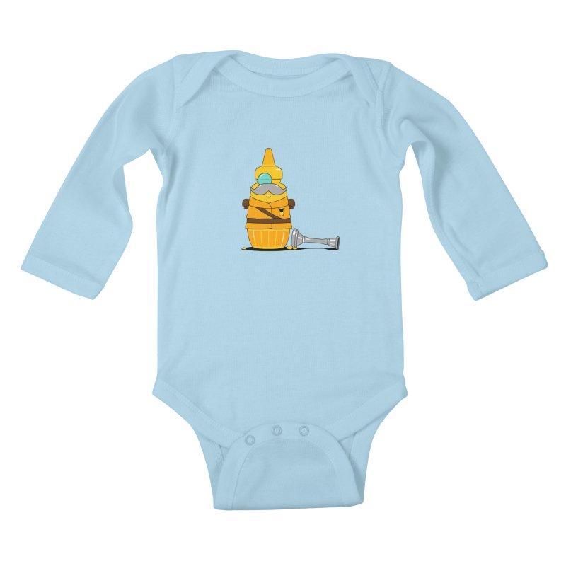 Whodunnit Kids Baby Longsleeve Bodysuit by Bunny Dojo Shop