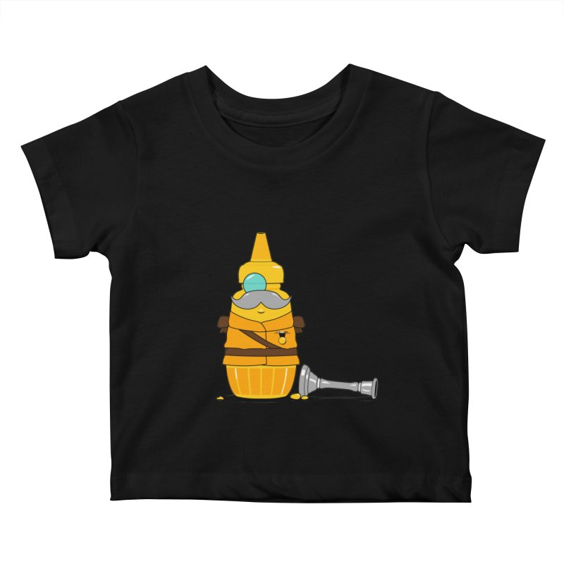 Whodunnit Kids Baby T-Shirt by Bunny Dojo Shop