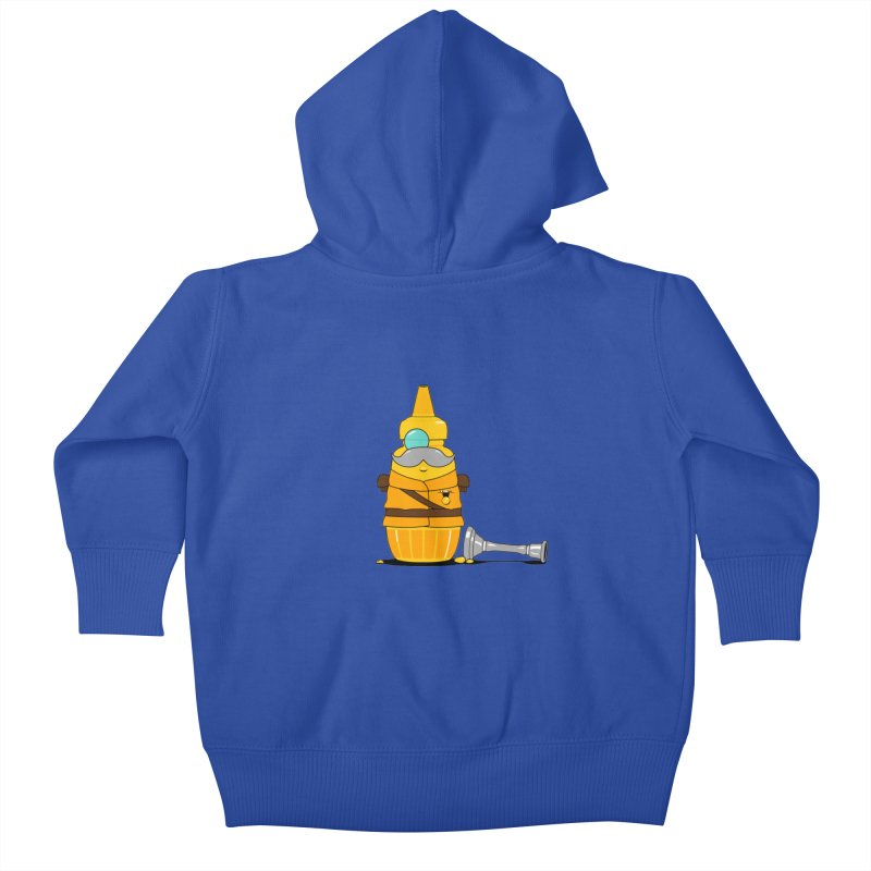 Whodunnit Kids Baby Zip-Up Hoody by Bunny Dojo Shop