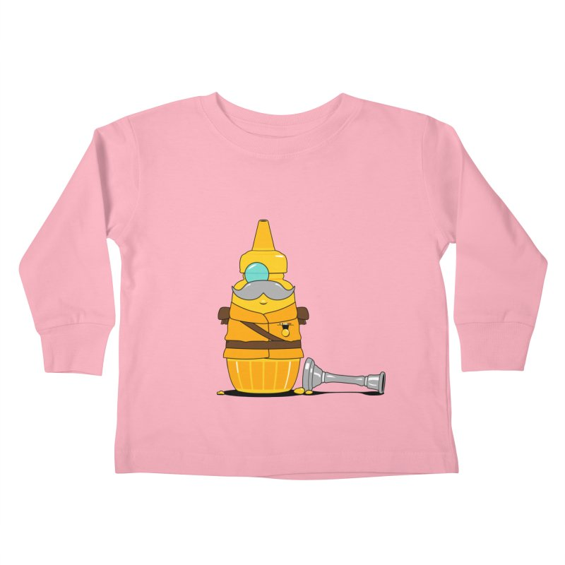 Whodunnit Kids Toddler Longsleeve T-Shirt by Bunny Dojo Shop