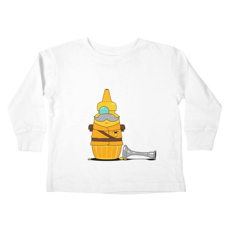 Whodunnit Kids Toddler Longsleeve T-Shirt by Bunny Dojo Shop