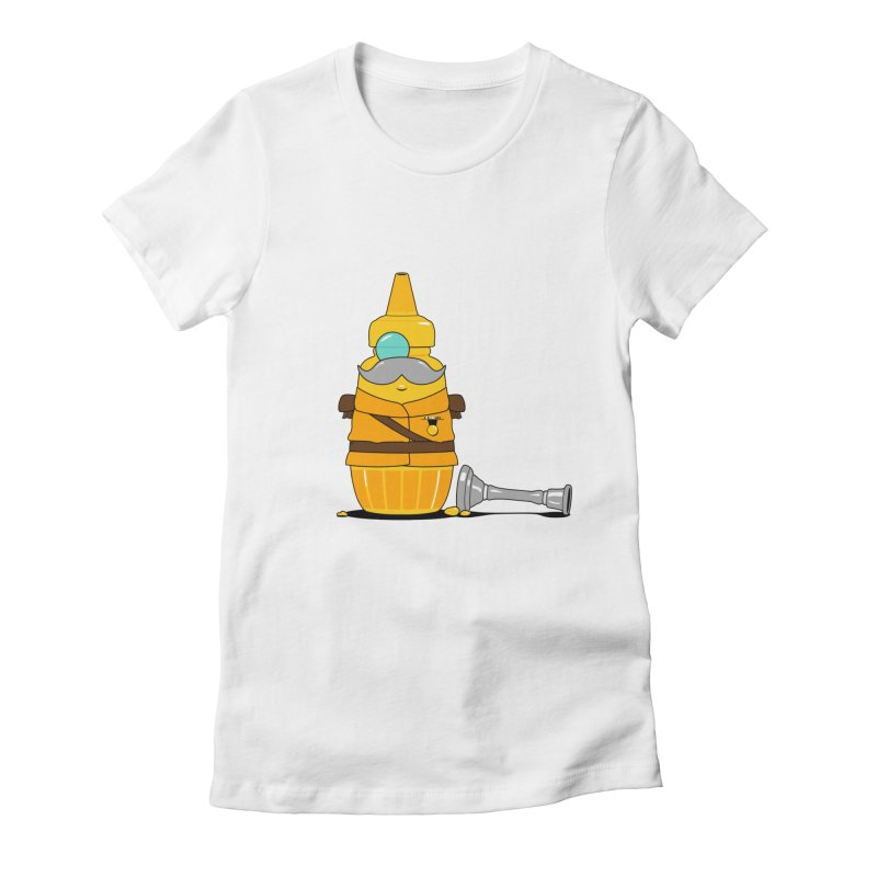 Whodunnit Women's Fitted T-Shirt by Bunny Dojo Shop
