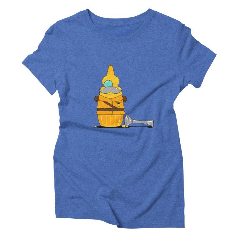Whodunnit Women's Triblend T-shirt by Bunny Dojo Shop