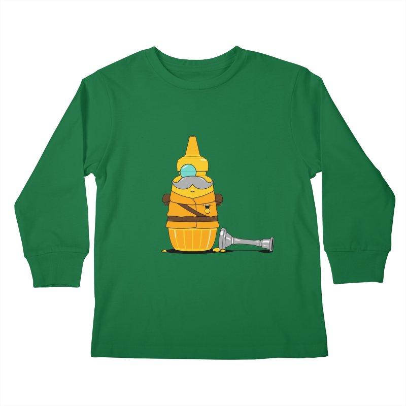 Whodunnit Kids Longsleeve T-Shirt by Bunny Dojo Shop