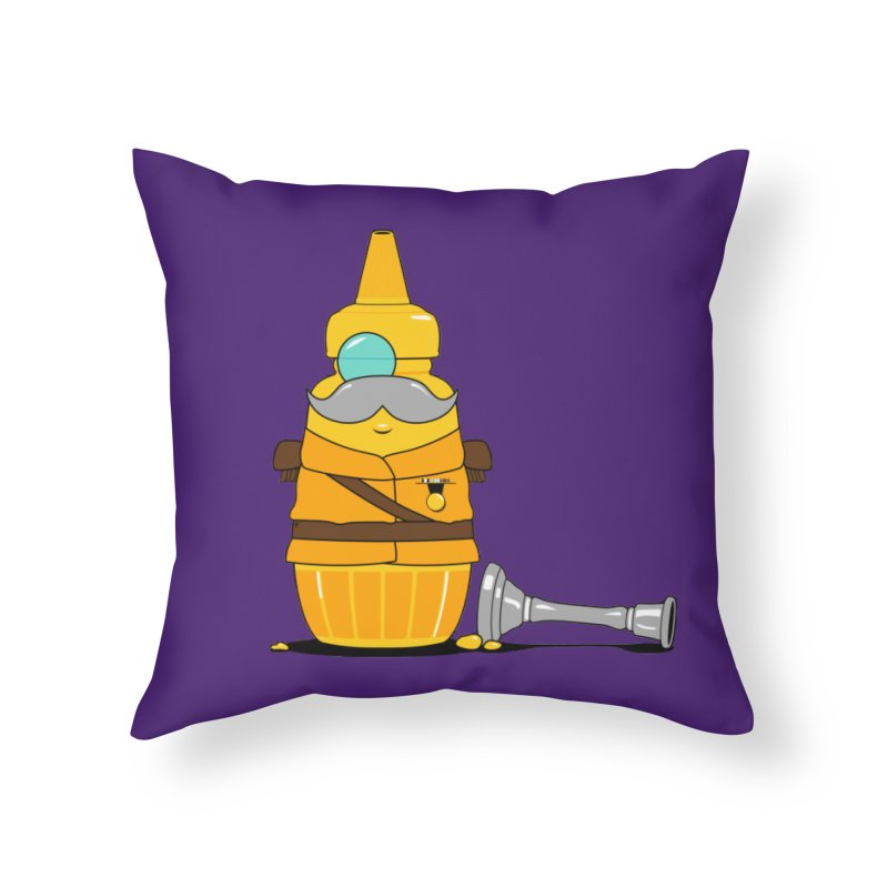Whodunnit Home Throw Pillow by Bunny Dojo Shop