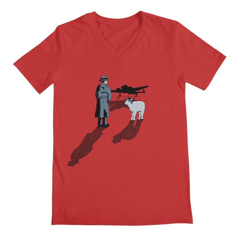 Here's Looking At You, Kid. Men's V-Neck by Bunny Dojo Shop
