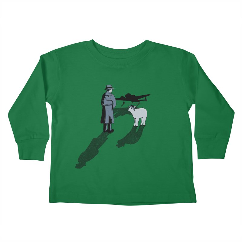 Here's Looking At You, Kid. Kids Toddler Longsleeve T-Shirt by Bunny Dojo Shop