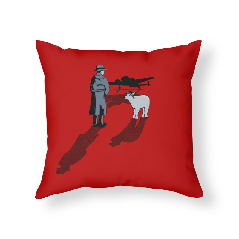 Here's Looking At You, Kid. Home Throw Pillow by Bunny Dojo Shop