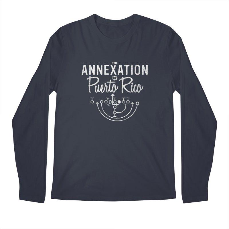 The Annexation of Puerto Rico Men's Longsleeve T-Shirt by Bunny Dojo Shop
