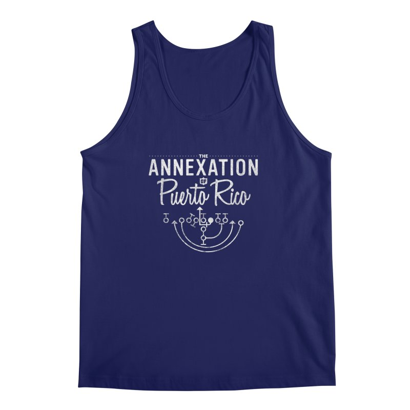 The Annexation of Puerto Rico Men's Tank by Bunny Dojo Shop