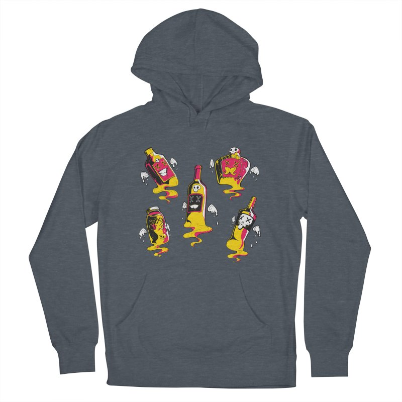Kindred Spirits Men's Pullover Hoody by Bunny Robot Art
