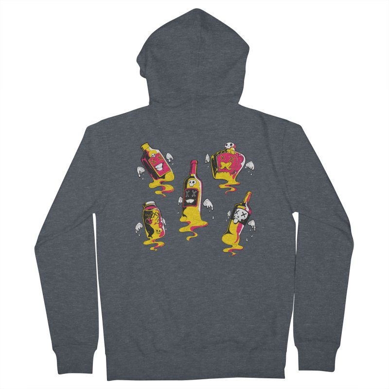 Kindred Spirits Women's French Terry Zip-Up Hoody by Bunny Robot Art