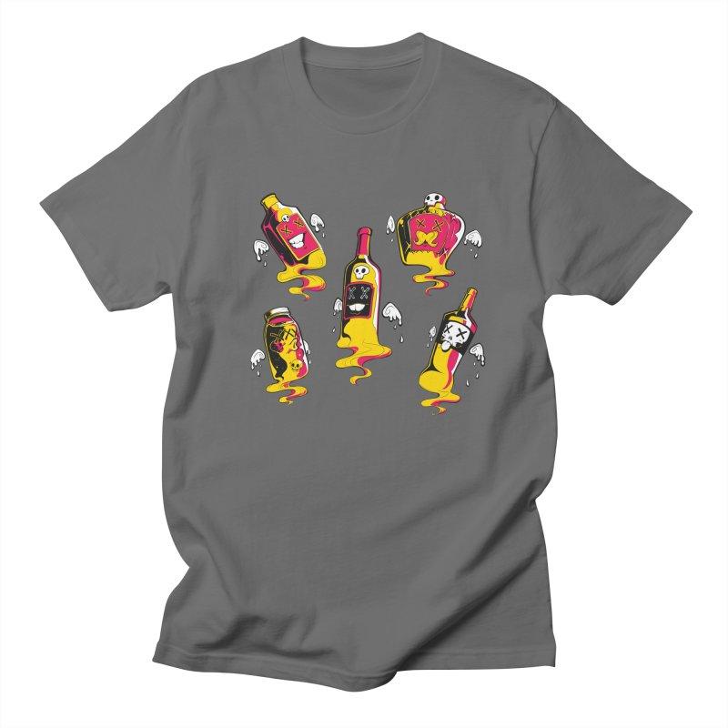 Kindred Spirits Men's T-shirt by Bunny Robot Art