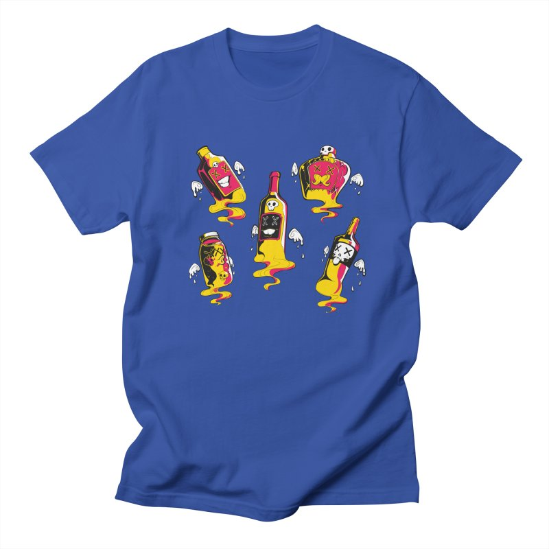 Kindred Spirits Men's Regular T-Shirt by Bunny Robot Art