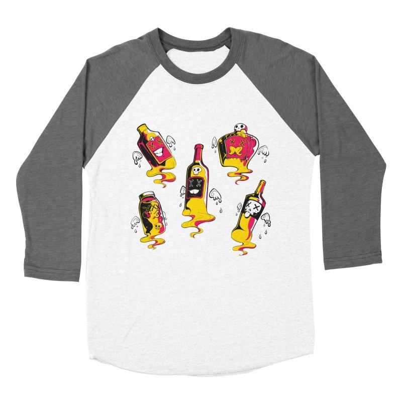 Kindred Spirits Women's Baseball Triblend T-Shirt by Bunny Robot Art