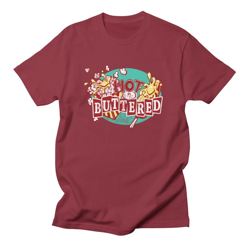 Hot n' Buttered Men's T-shirt by Bunny Robot Art
