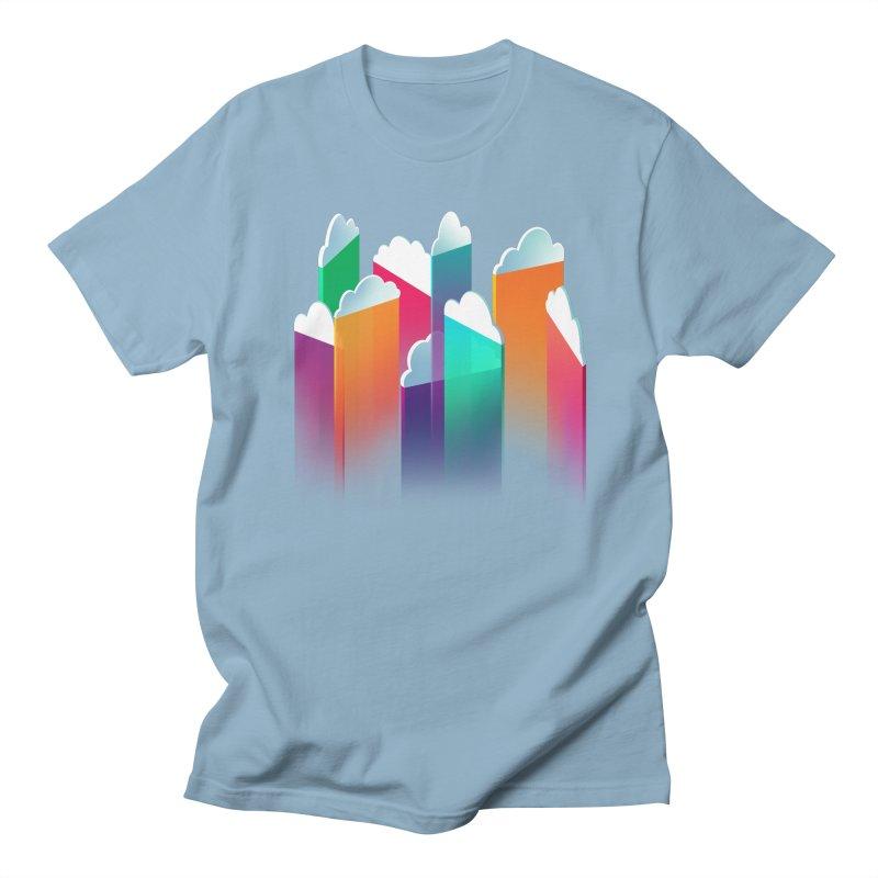 Light Rain Men's T-shirt by Bunny Robot Art