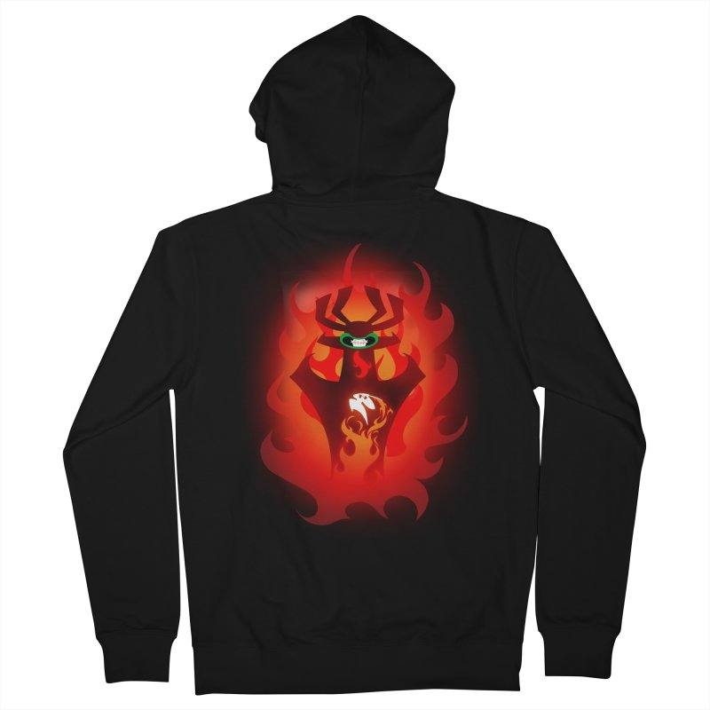 Akuuuu! Men's Zip-Up Hoody by Bunny Robot Art