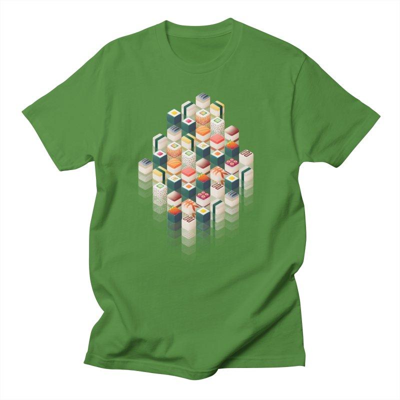 Maki Matrix Men's Regular T-Shirt by Bunny Robot Art