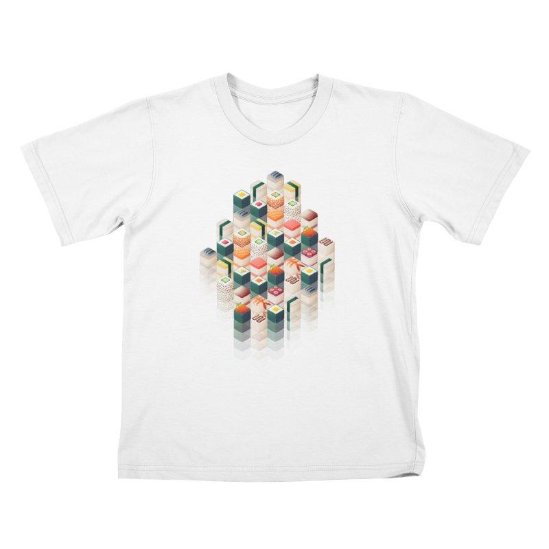 Maki Matrix Kids T-shirt by Bunny Robot Art