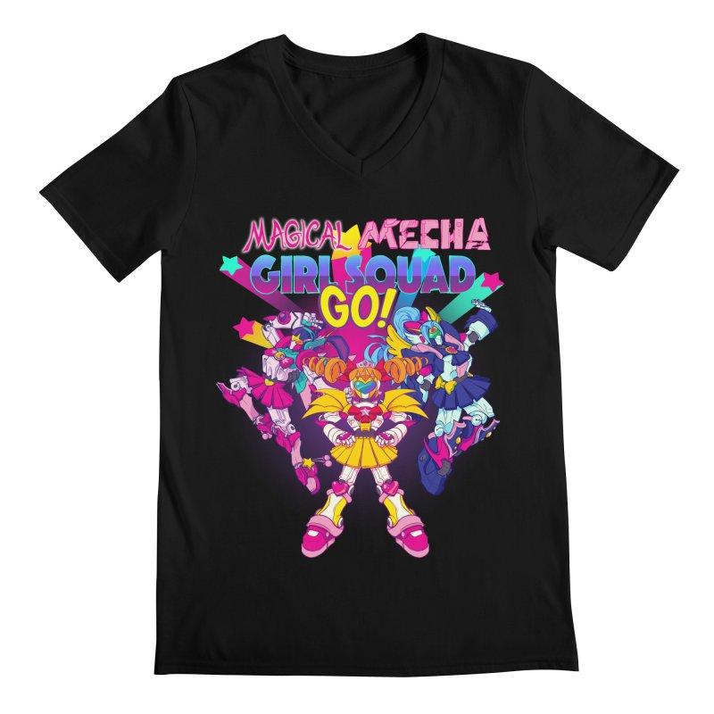 Magical Mecha Girl Squad Go!   by Bunny Robot Art