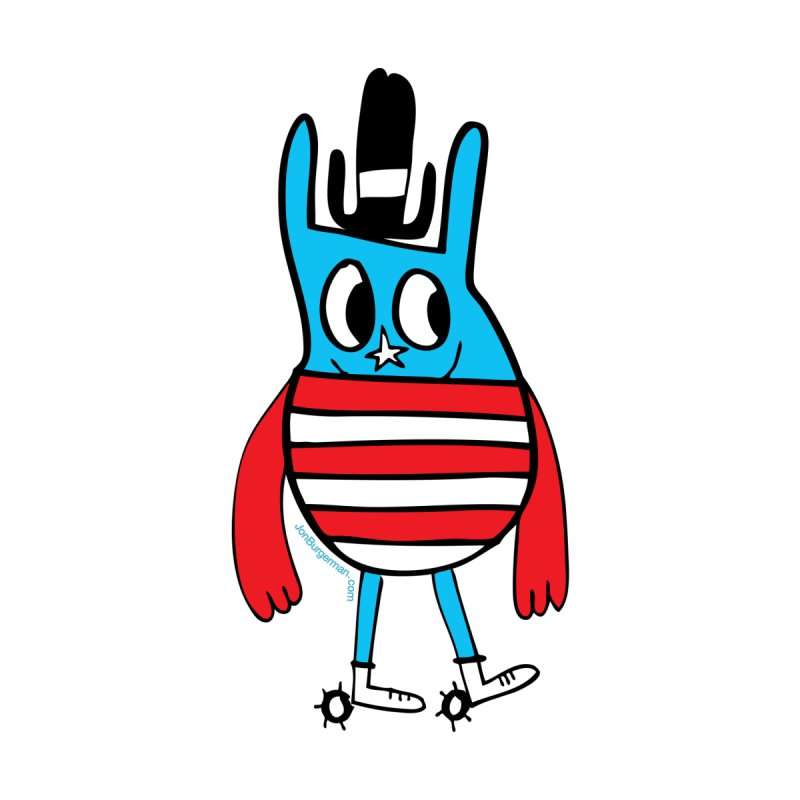 American Doodle None  by Jon Burgerman's Artist Shop