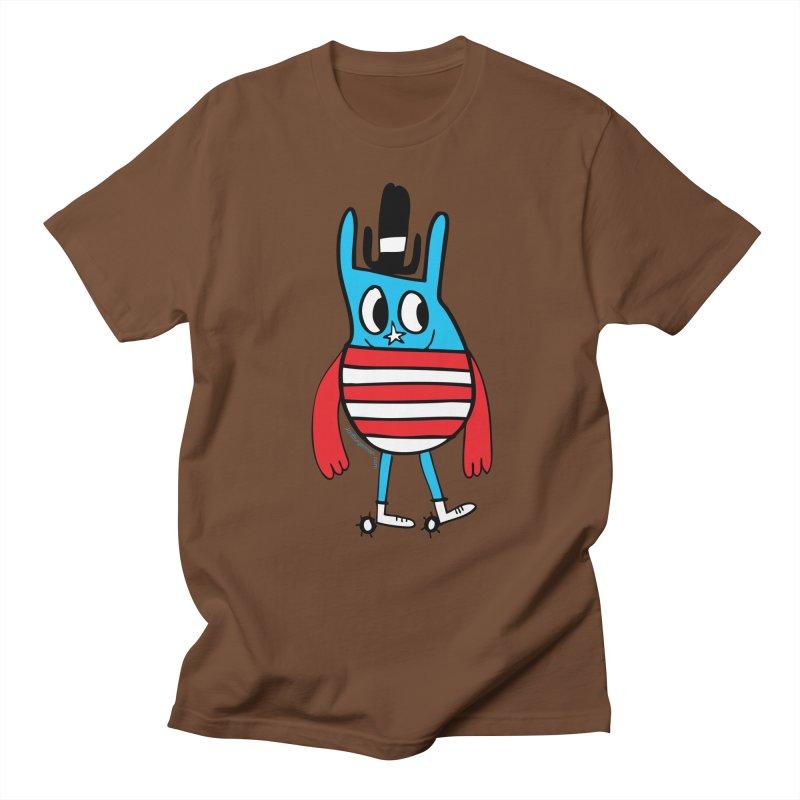 American Doodle Men's T-shirt by Jon Burgerman's Artist Shop