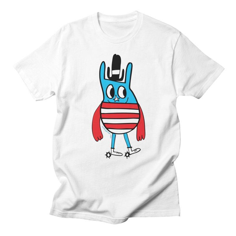 American Doodle Men's Regular T-Shirt by Jon Burgerman's Artist Shop