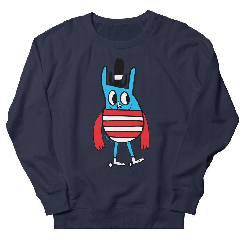 American Doodle Men's Sweatshirt by Jon Burgerman's Artist Shop
