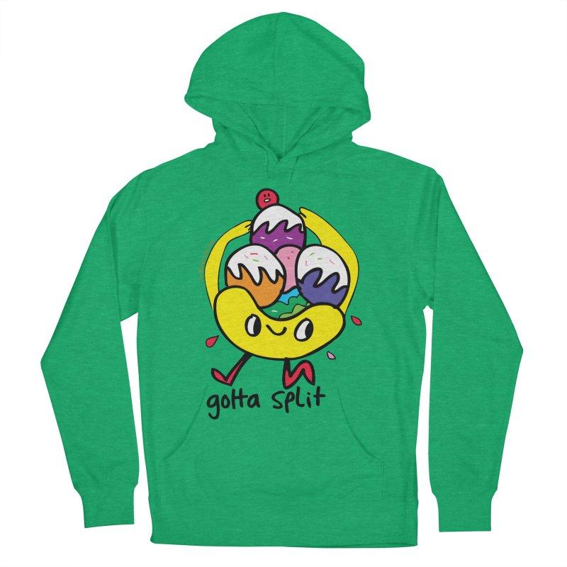 Gotta Split Women's Pullover Hoody by Jon Burgerman's Artist Shop