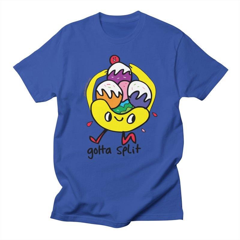 Gotta Split Men's Regular T-Shirt by Jon Burgerman's Artist Shop