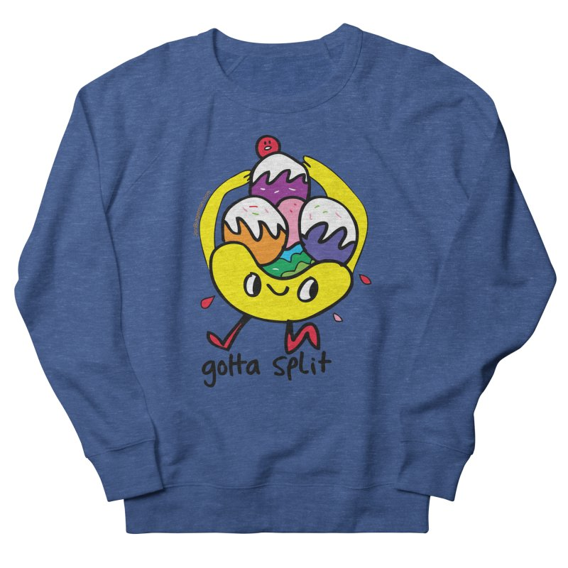 Gotta Split Men's Sweatshirt by Jon Burgerman's Artist Shop