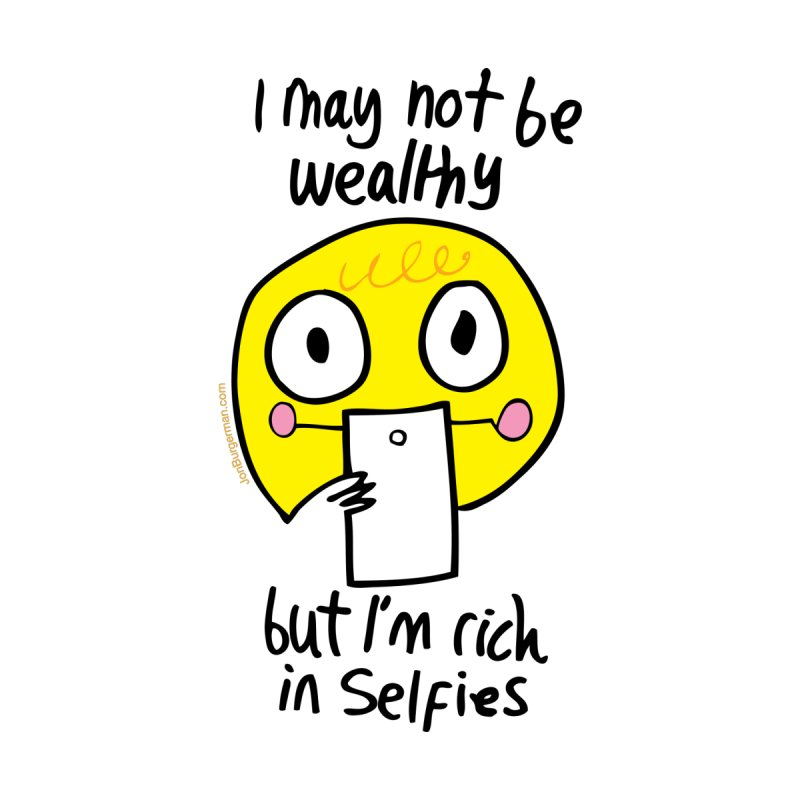 Rich in Selfies by Jon Burgerman's Artist Shop