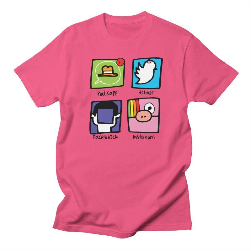 Instaham Men's T-shirt by Jon Burgerman's Artist Shop