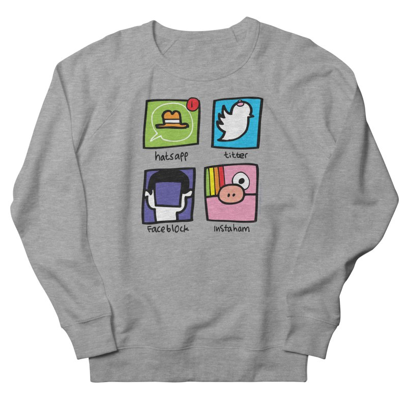 Instaham Women's Sweatshirt by Jon Burgerman's Artist Shop