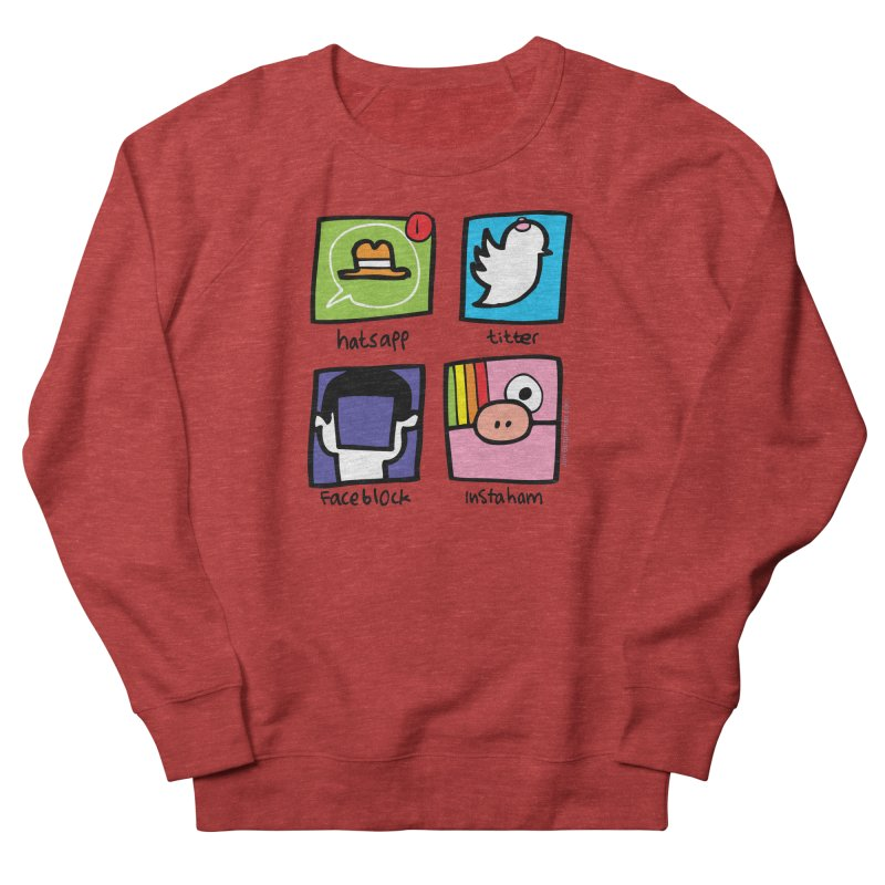 Instaham Men's Sweatshirt by Jon Burgerman's Artist Shop