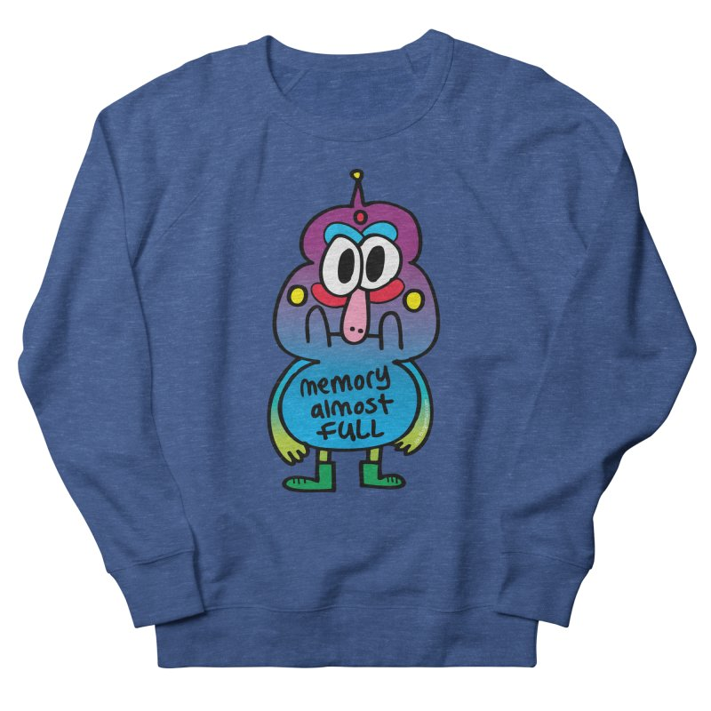 Memory Almost Full Women's Sweatshirt by Jon Burgerman's Artist Shop