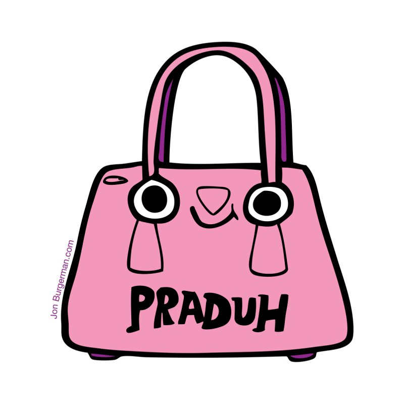 Praduh by Jon Burgerman's Artist Shop