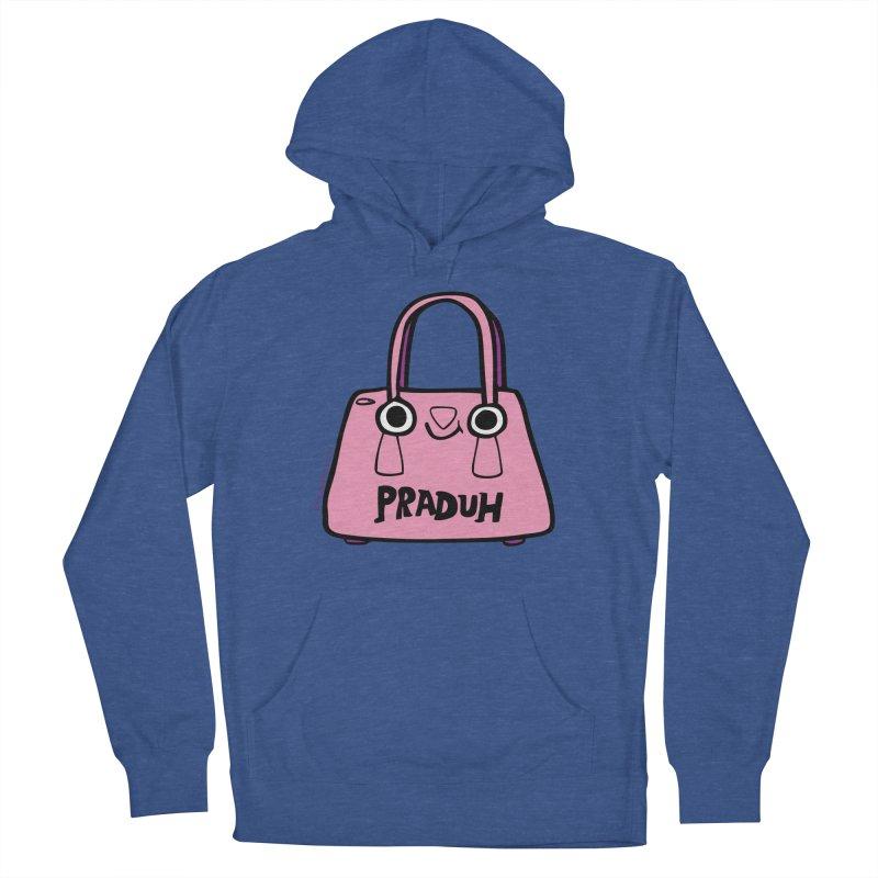 Praduh Men's French Terry Pullover Hoody by Jon Burgerman's Artist Shop