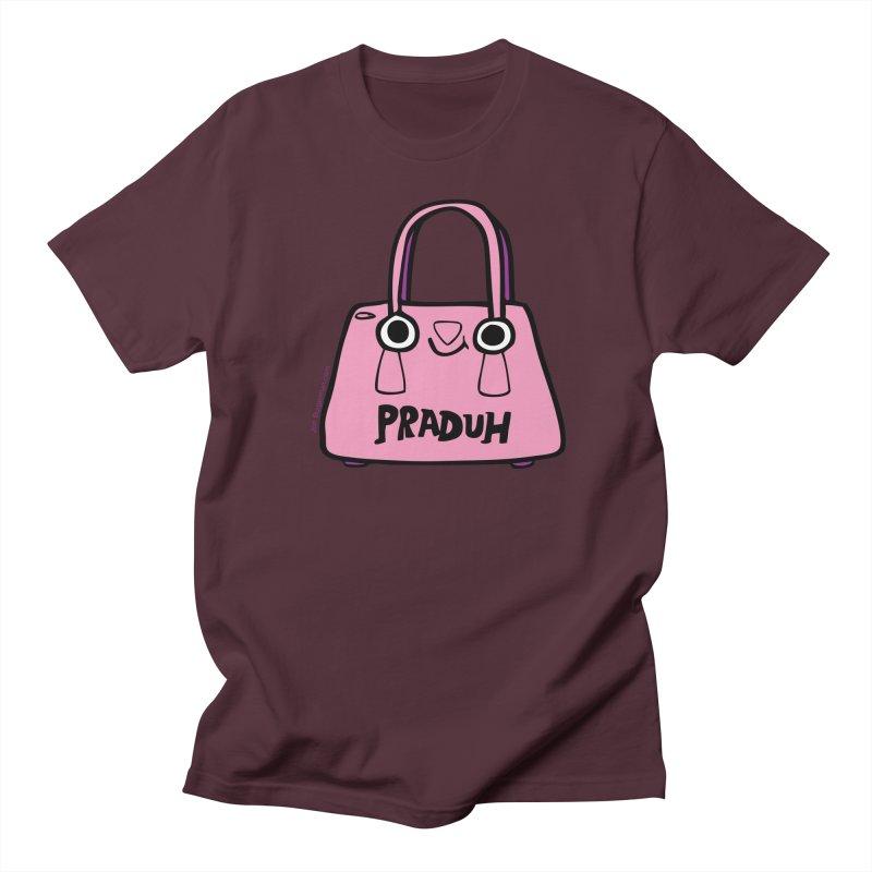 Praduh Men's Regular T-Shirt by Jon Burgerman's Artist Shop