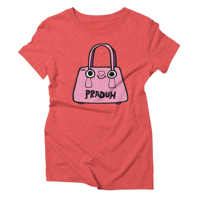 Praduh Women's Triblend T-Shirt by Jon Burgerman's Artist Shop